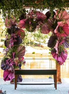 Dinner Party Decorations, Backdrop Decorations, Indian Wedding Decorations, Diy Wedding Backdrop, Outdoor Wedding Reception, Dried Flower Bouquet, Dried Flowers, Herb Garden Design, Backdrop Design