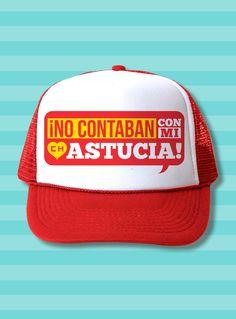 El Chapulín Trucker Hat - No contaban con mi astucia 697d7ffc5d2