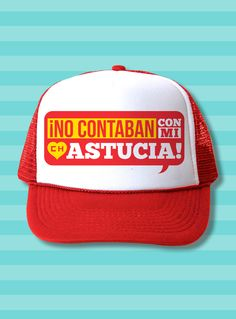 El Chapulín Trucker Hat - No contaban con mi astucia 3dcf8133dae