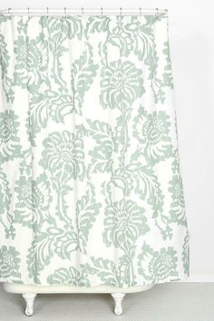 Magical Thinking Stamped Blossom Shower Curtain #urbanoutfitters