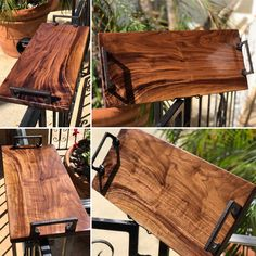 Geppetta Boards- Handmade Wooden Charcuterie and Cheese Boards Wooden Gifts, Wooden Diy, Handmade Wooden, Bandeja Bar, Woodworking Projects Diy, Old Wood Projects, Wood Tray, Charcuterie Board, Decoration Table