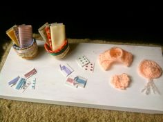 Things I made for my sewing room and my miniature room box.