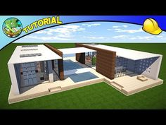 Andyisyoda Builds a Modern House! – How to Build a House in Minecraft Minecraft House Tutorials, Minecraft Tutorial, Minecraft Designs, Minecraft Creations, Minecraft Projects, Minecraft Ideas, Modern Minecraft Houses, Minecraft Mansion, Minecraft Castle