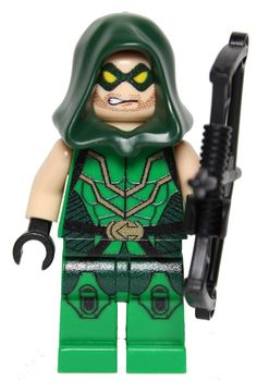 GREEN ARROW dc Superhero Oliver Queen Custom Printed by MinifigFX, $34.95