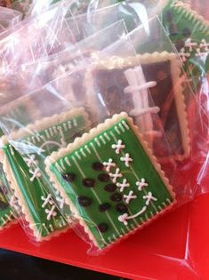 Football field cookie