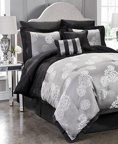 CLOSEOUT! Meiko 8 Piece Full Comforter Set