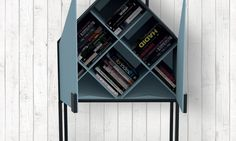 Chronicle's Choice Runner Up: Lea Randebrock / Lahti, FinlandThe Chronicle Books team loved the modern design and the surprising shelving. Little Library, Little Free Libraries, Free Library, Eagle Project, Library Design, Design Competitions, Architect Design, Modern Design, Design Design