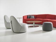 Bernhardt Design Mitt Neocon 2014 Seating:  Sofas  Lounge Silver
