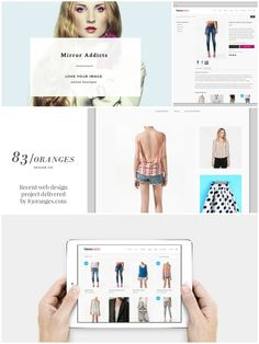 A #Webdesign project we recently delivered for a #fashion brand #webdesign #design #graphicdesign #website #business
