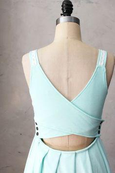 Fleet Collection - Indie Designer - Derica Dress in Mint