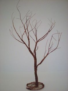 Copper Tree in Winter