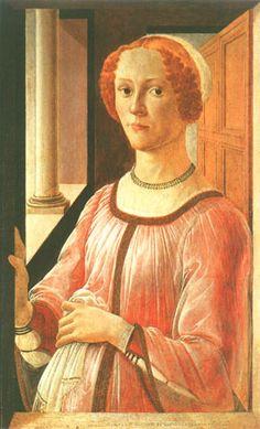 Sandro Botticelli - Portrait of a lady