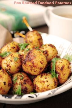 US Masala: Pan Roasted Tandoori Potatoes