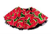 Φορέματα - Ρούχα Για Κορίτσια Για Πάρτι - Εκδύλωση :: Jelly Bean Kids Collection 2014 :: Jelly Bean Kids Εντιπωσιακή Καλοκαιρινή Φούστα με Εμπριμέ Καρπούζι - MEMOIRS Νυφικά και Γυναικεία Φορέματα
