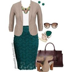 5 stylish plus size outfits for a job interview - plus size fashion for women