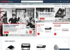 Canonline Magento 2 B2B   Magento  Design  Realisatie  AFAS Magento Design, Printer, Amazing, Printers