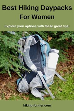 Don't buy a hiking daypack until you read these tips and suggestions from Hiking For Her. #daypacks #besthikinggear #backpacksforhiking #hikingforher Hiking Gear Women, Best Hiking Gear, Hiking Tips, Neutral Backpacks, Day Hike, Hiking Backpack, Camping Equipment, Outdoor Outfit, Book Reviews