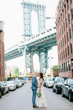 Wedding Photography   Brooklyn Bridge
