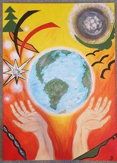 Distrugerea pămîntului Painting, Art, Art Background, Painting Art, Kunst, Paintings, Performing Arts, Painted Canvas, Drawings