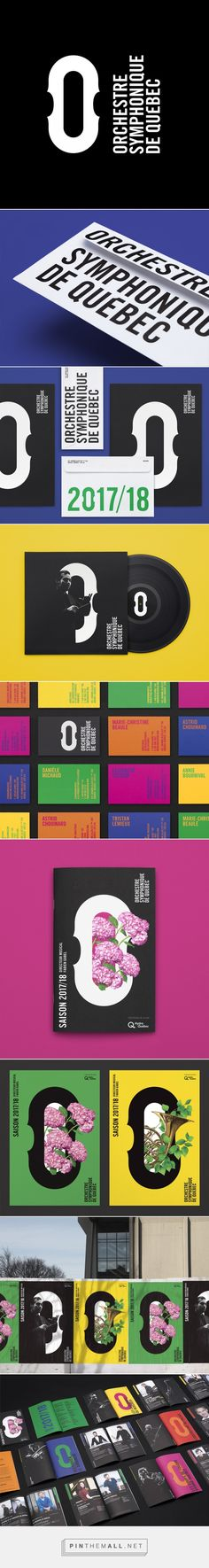 Brand New: New Logo and Identity for Orchestre Symphonique de Québec by lg2... - a grouped images picture - Pin Them All