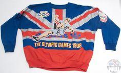 Adidas Vintage Crewneck Sweatshirt Circa 1990's Multicolor Size X-Large Excellent Used Condition