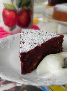 Gâteau banane chocolat (avec du chocolat en poudre)
