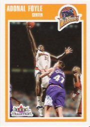2002-03 Fleer Tradition #43 Adonal Foyle by Fleer Tradition. $0.39. 2002 Fleer Inc. trading card in near mint/mint condition, authenticated by Seller