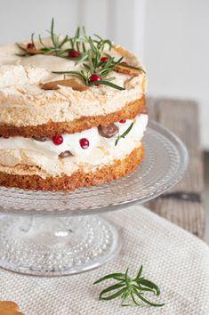 Vanilla Cake, Sweet Tooth, Desserts, Christmas, Food, Tailgate Desserts, Xmas, Deserts, Essen