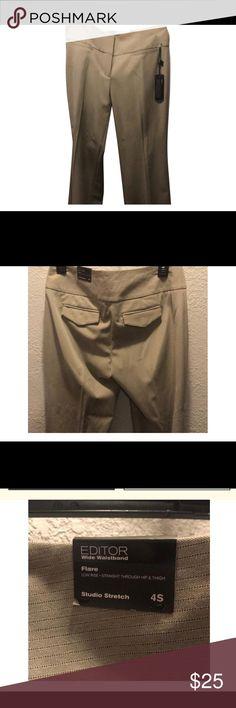 Express Editor Slacks size 4s NWT - Express Editor dress pants size 4 short Express Pants Trousers