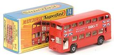 Matchbox Superfast MB74-b Daimler Fleetline Bus