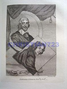 EDWARD PIERCE SENIOR & JUNIOR XRARE ENGRAVING ca. 1790