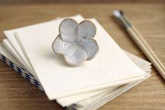 Plumeria paper weight