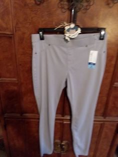 NWT Size Large 14/16 They fit like a 12 they are not 14/16 on me Only tried on didn't like Color is Gray