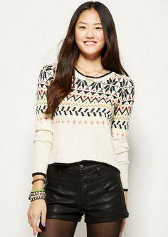 Nordic Pop Pullover