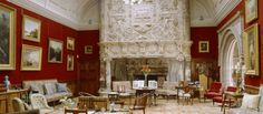 The Drawing Room with the Italian marble chimney