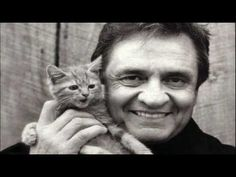 Cash with a kitten Johnny Cash is holding a kitten. All arguments are invalid.Johnny Cash is holding a kitten. All arguments are invalid. Johnny Cash, Cat Stevens, Crazy Cat Lady, Crazy Cats, I Love Cats, Cool Cats, Guy Debord, Celebrities With Cats, Celebs