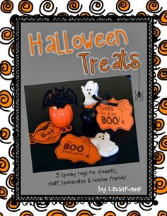 Free printable Halloween gift tags for students, staff, and teachers