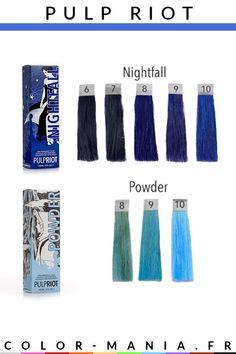 Pulp Riot Color Swatches Hair Pulp Riot Hair Pulp