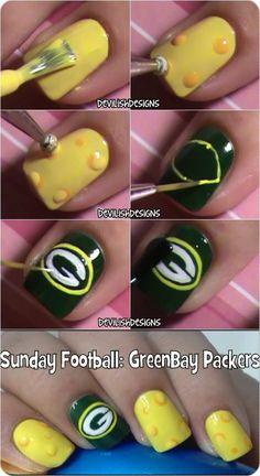 devilishdesigns: Green Bay Packers Tutorial