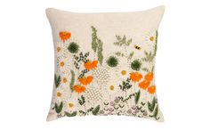 Just had to buy this! Bee & Wild Flowers Embroidered Cushion