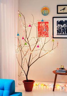 Árvore de Natal - Improvisada.