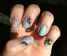Doughnut Nails