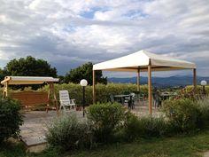 Sullo sfondo il Monte Amiata visto da #BBPoggiodelDrag #Maremma