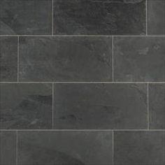 Slate Tile - Montauk Black