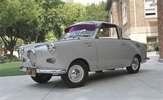 1962 Goggomobil 250 Coupe Fancy Cars, Retro Cars, Vintage Cars, Cool Cars, Small Suv, Small Cars, Chevy Vehicles, Automobile, Strange Cars