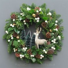 Winter Wild Fresh Christmas Wreath by Magical Christmas Wreaths, diyde . Winter Wild Fresh Christmas Wreath by Magical Christmas Wreaths, diydekorationweihnachten by fr christmas diyde fresh magical Wild winter winteranimals winterboots wintercoat Woodland Christmas, Magical Christmas, Rustic Christmas, Beautiful Christmas, Christmas Island, Christmas Door Wreaths, Holiday Wreaths, Christmas Decorations, Christmas Crafts