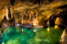 Indoor Underground Cave Pool - Fredericksburg, Texas