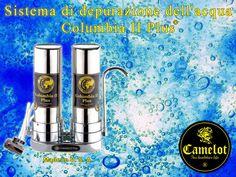 Sistema di depurazione dell'acqua Columbia II Plus. Filtri a carbone attivo e ceramica. Columbia, Coffee Maker, Kitchen Appliances, Filter, Coffee Maker Machine, Diy Kitchen Appliances, Coffee Percolator, Home Appliances, Coffee Making Machine