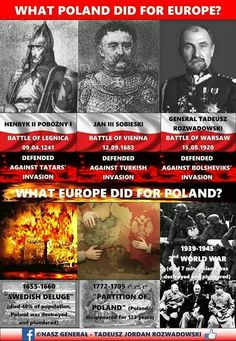 What Poland did for europe Army History, History Memes, European History, Family History, Battle Of Vienna, Poland History, Warsaw Poland, I Love Anime, Countries Of The World