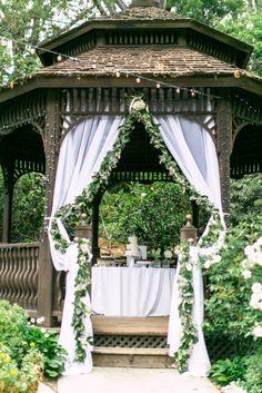 California Spring Garden Wedding - Style Me Pretty